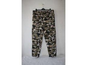 Kalhoty Outshell - camo green