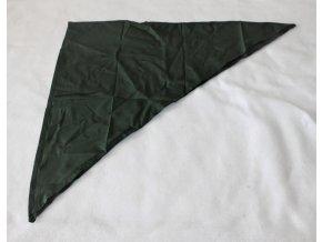 Šátek zelený AČR - trojcípý