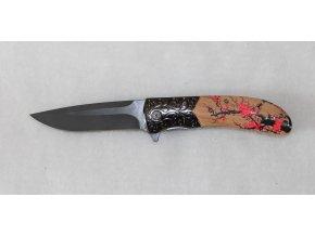 Kapesní zavírací nůž s klipem - dámský