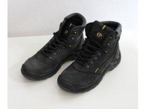 Pracovní obuv - kotníková, černá