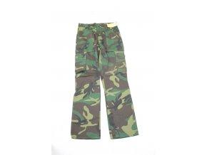 Dětské kalhoty Backcreek - woodland