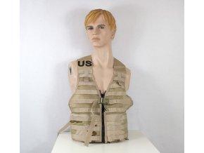 Taktická vesta US FLC Molle USMC Modular molle - desert