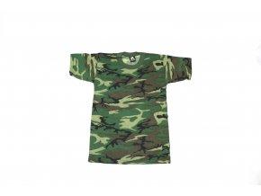 Dětské tričko JR.G.*I. - woodland