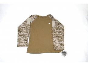 Dětské tričko, triko s dl. rukávem Trooper Tactical - Desert Digital