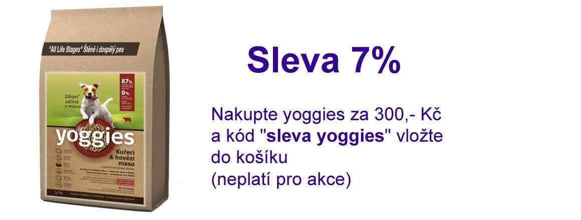 Výhodné nákupy Yoggies