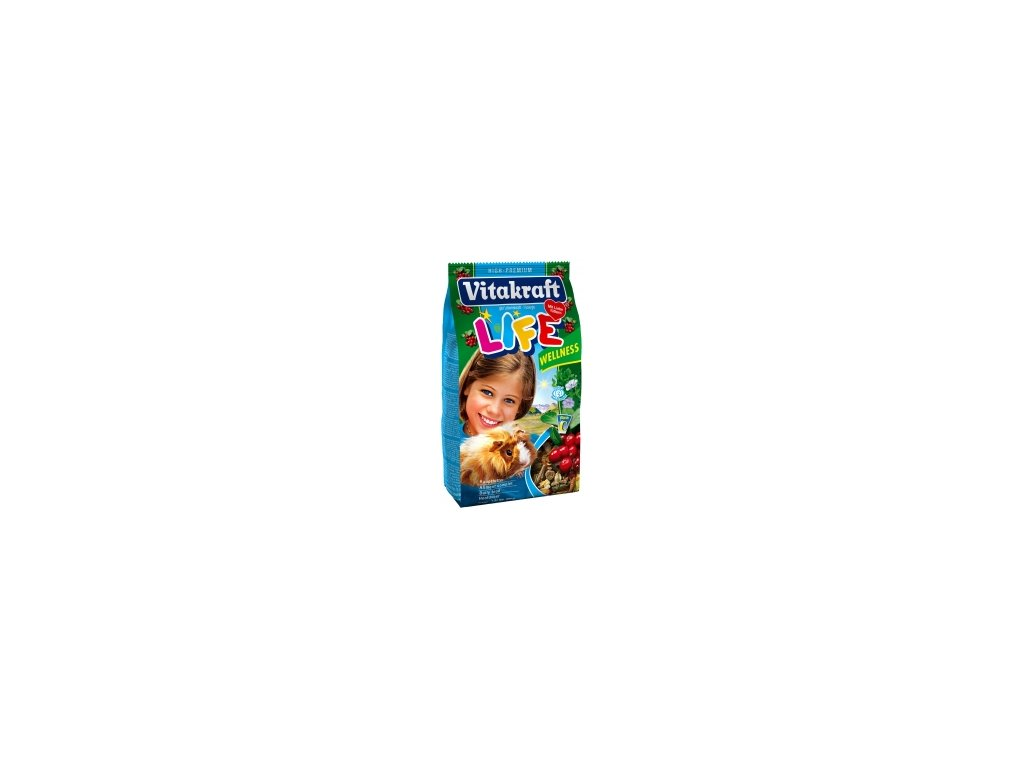 Vitakraft Life Wellnes morče 600g