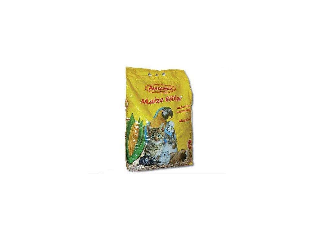 Podestýlka AVICENTRA kukuřičná hrubá 10 l