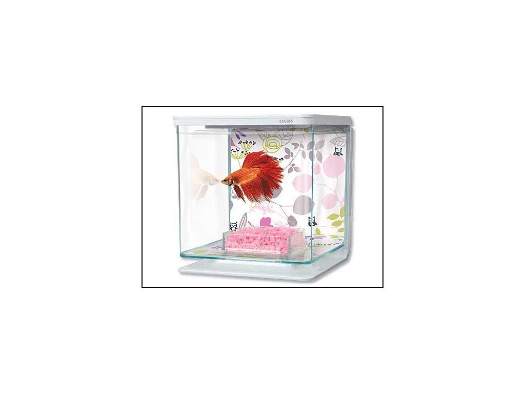Akvárium MARINA Betta Kit Floral 2 l