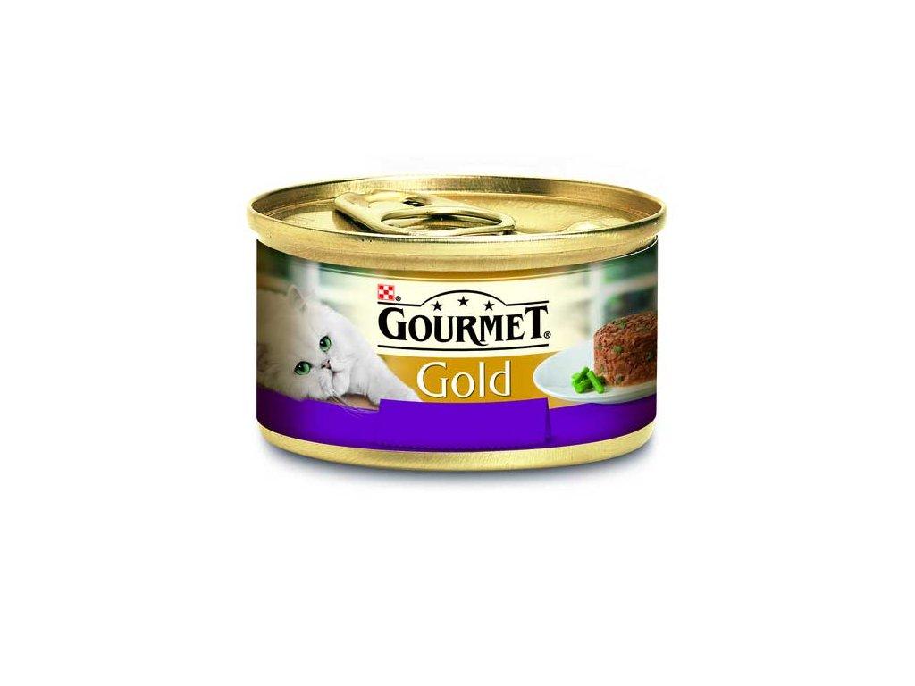 Gourmet Gold Savoury Cake jehně zelené fazolky 85 g