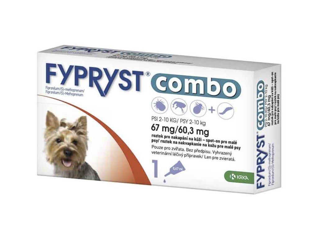 Fypryst combo spot-on S 67/60,3mg 1x0,67 ml