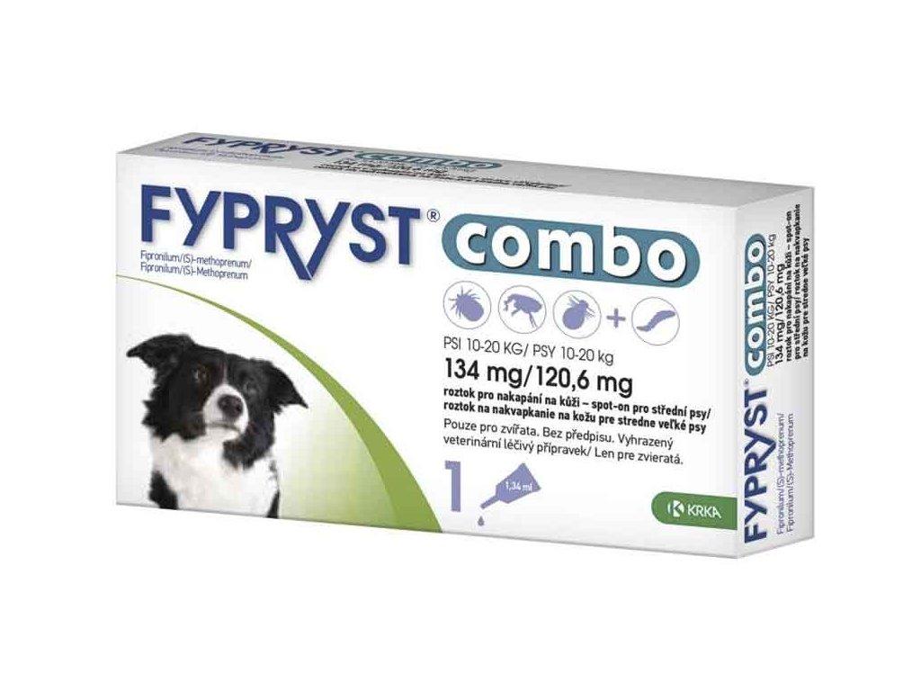 Fypryst Combo spot on M 134/120,6mg 1x1,34mg