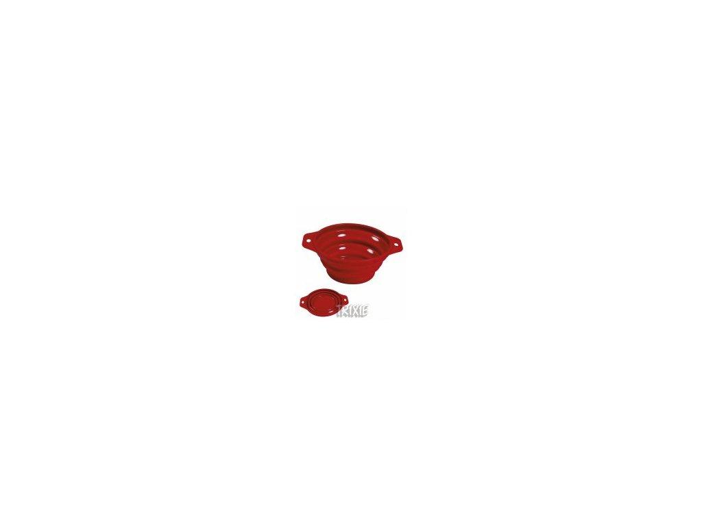 Cestovní silikonová miska sklapovací 2 l/22 cm