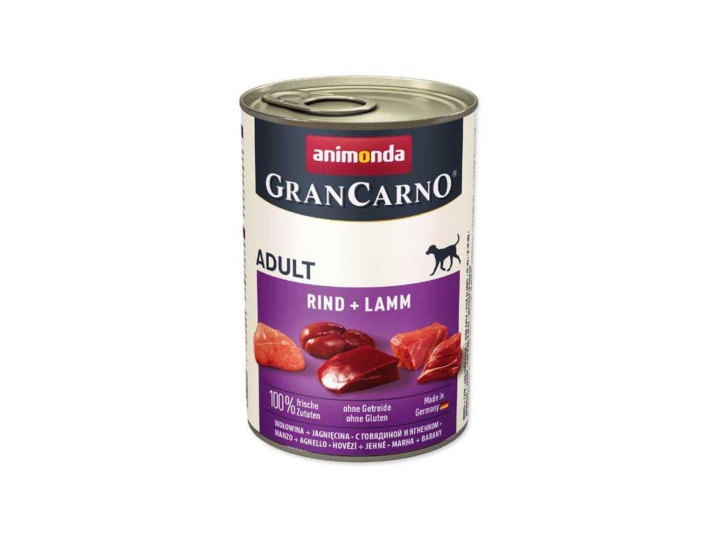 Animonda Gran Carno hovězí + jehně