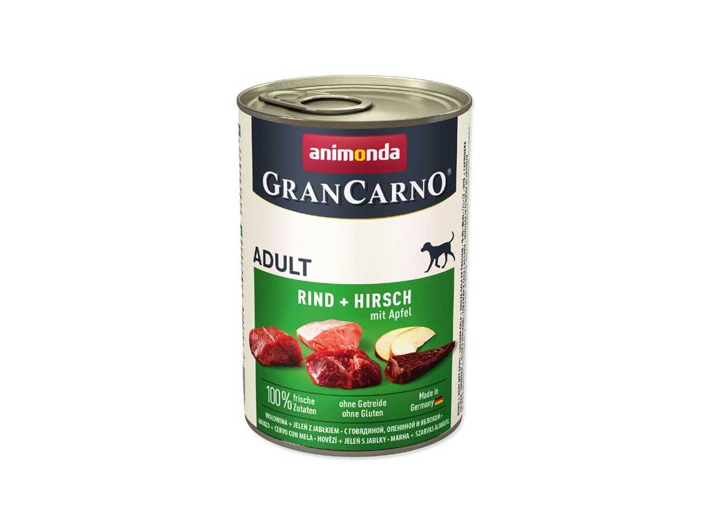 Animonda Gran Carno jelen + jablko