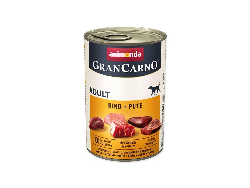 Animonda Gran Carno hovězí + krůta