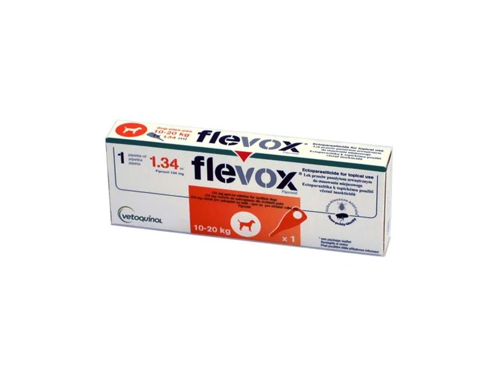 Flevox M 134mg spot-on dog 1 x 1,34 ml