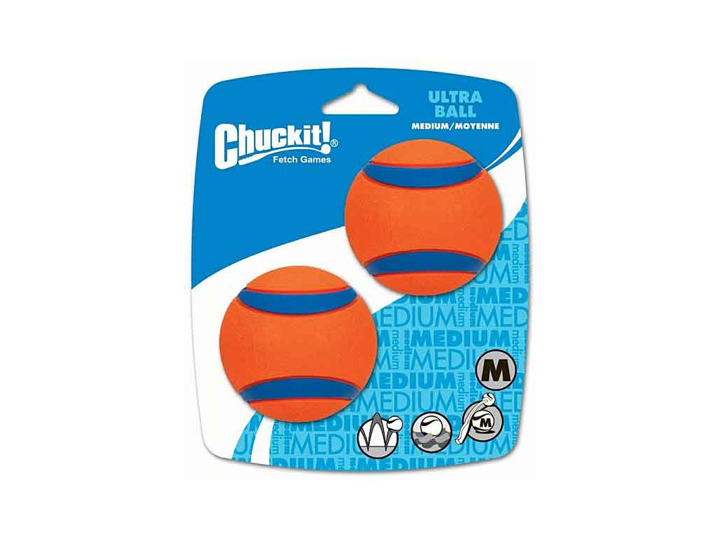 Míček Ultra Ball Medium 6,5 cm - 2 ks