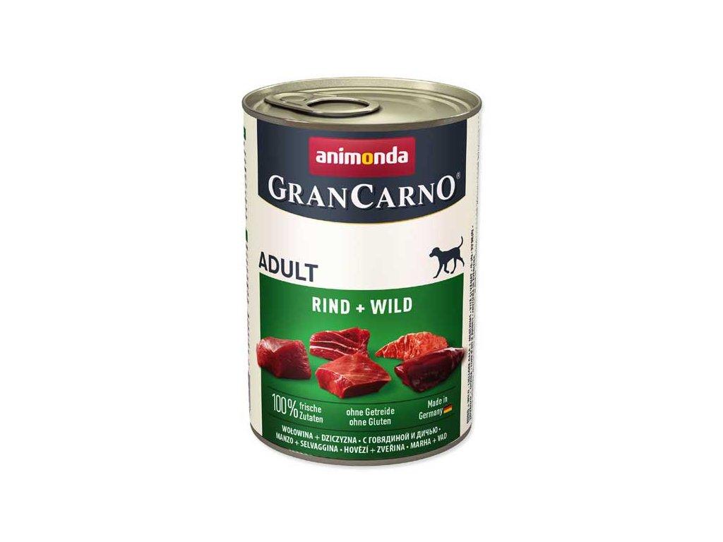 Animonda Gran Carno hovězí + zvěřina