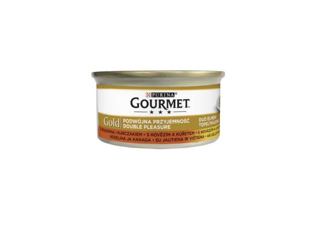 gourmet gold hovezi kure 85g