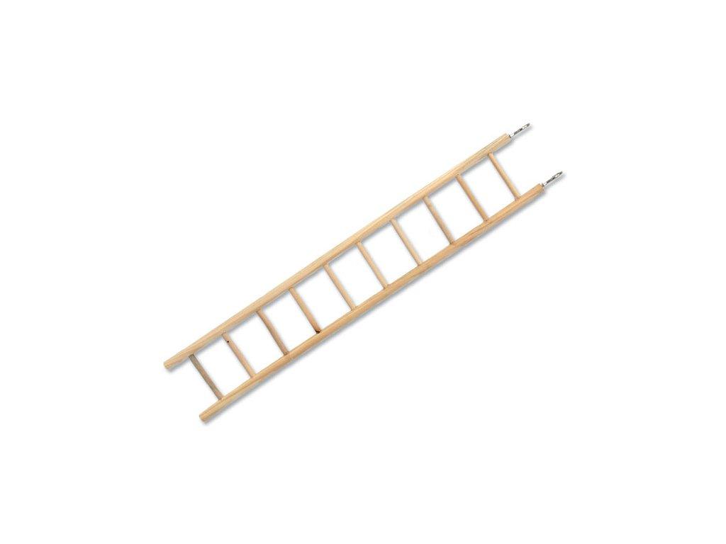 Žebřík BIRD JEWEL dřevěný 7 příček 40 cm