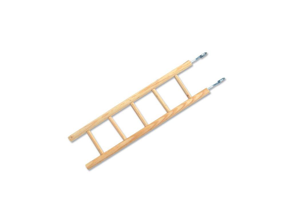 Žebřík BIRD JEWEL dřevěný 5 příček 34 cm