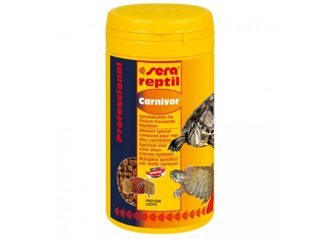 sera reptil carnivor 250ml