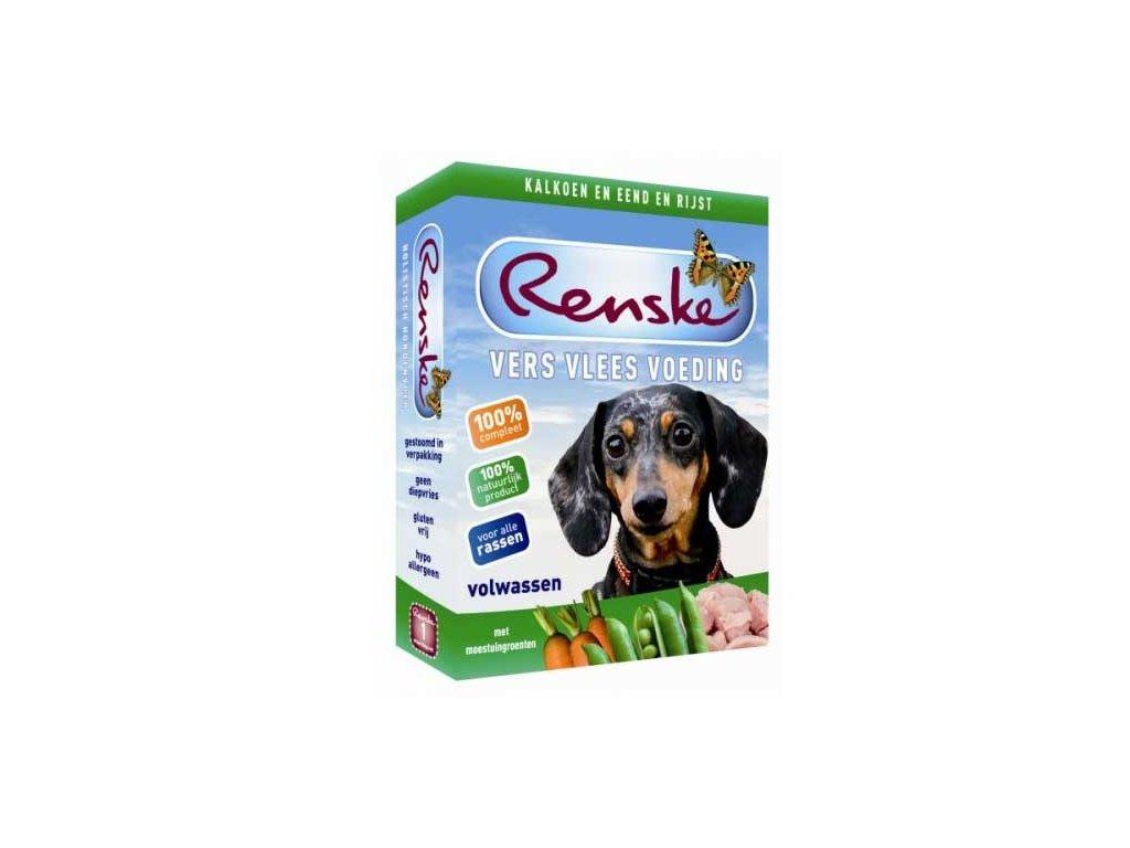 Renske Fresh Menu Dog 395g - Adult Turkey & Duck