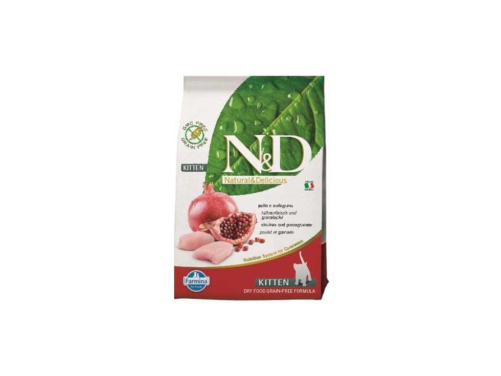 N&D Grain Free Cat Kitten Chicken & Pomegranate