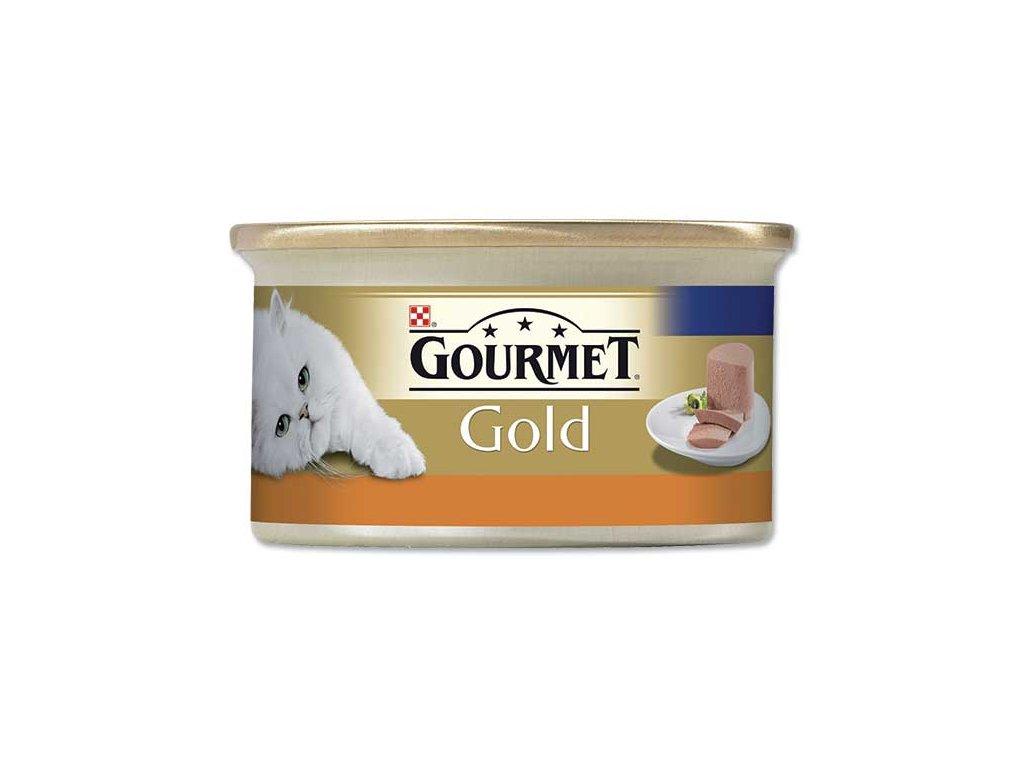 GOURMET Gold konzerva krůta 85g paštika