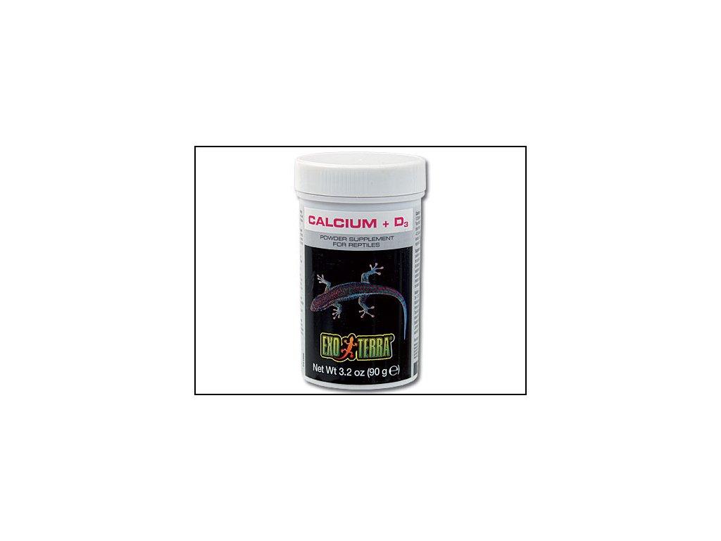 EXO TERRA kalcium + vitamín D3 90g
