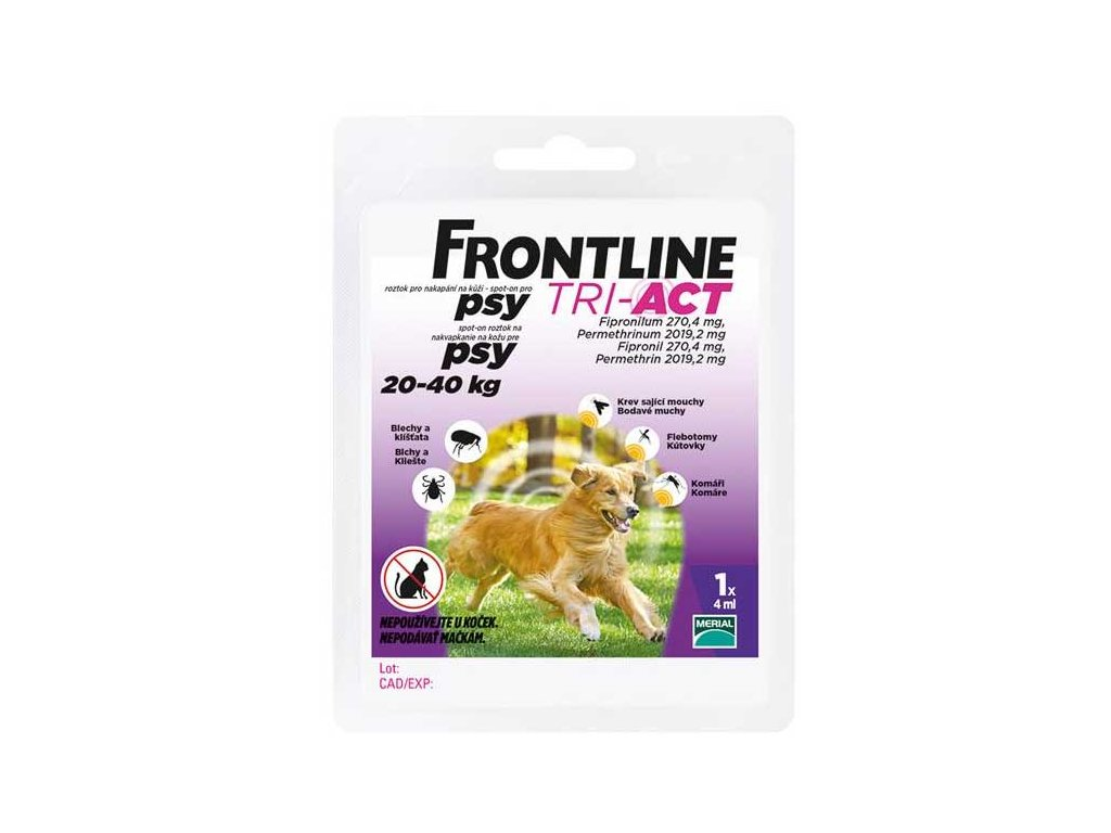 Frontline TRI-ACT spot on dog L 1x4ml