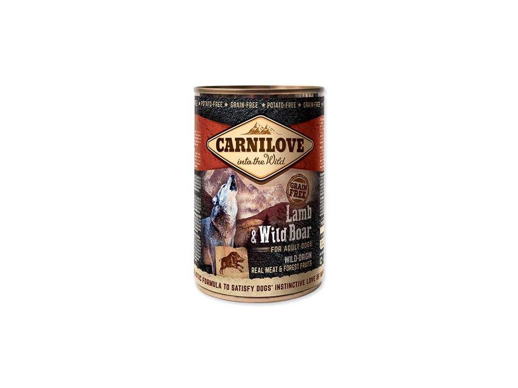 CARNILOVE Wild Meat Lamb & Wild Boar 400g
