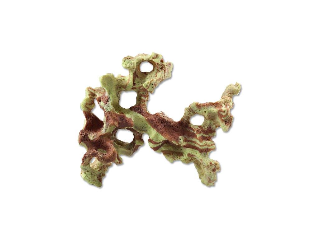 Dekorace AQUA EXCELLENT kámen mořský duhový 15.5 cm