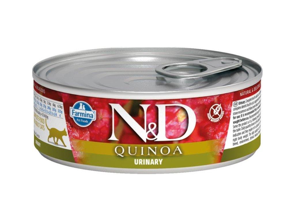 nd cat konzerva quinoa duck urinari 80g