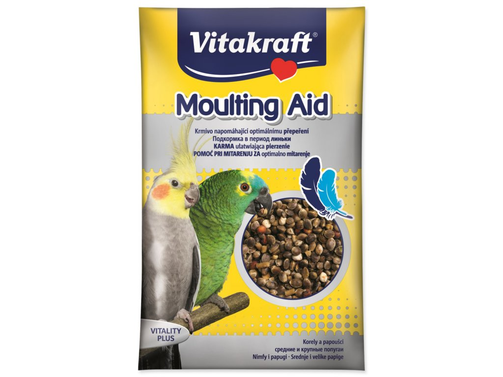 vitamíny přepeření pro papušky