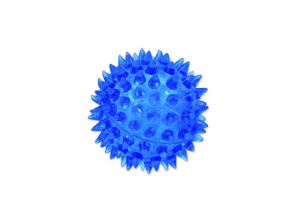 Hračka DOG FANTASY míček modrý 5 cm