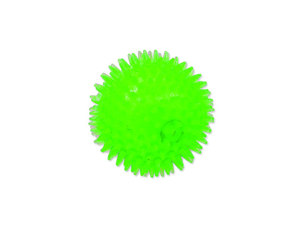 Hračka DOG FANTASY míček pískací zelený 10 cm