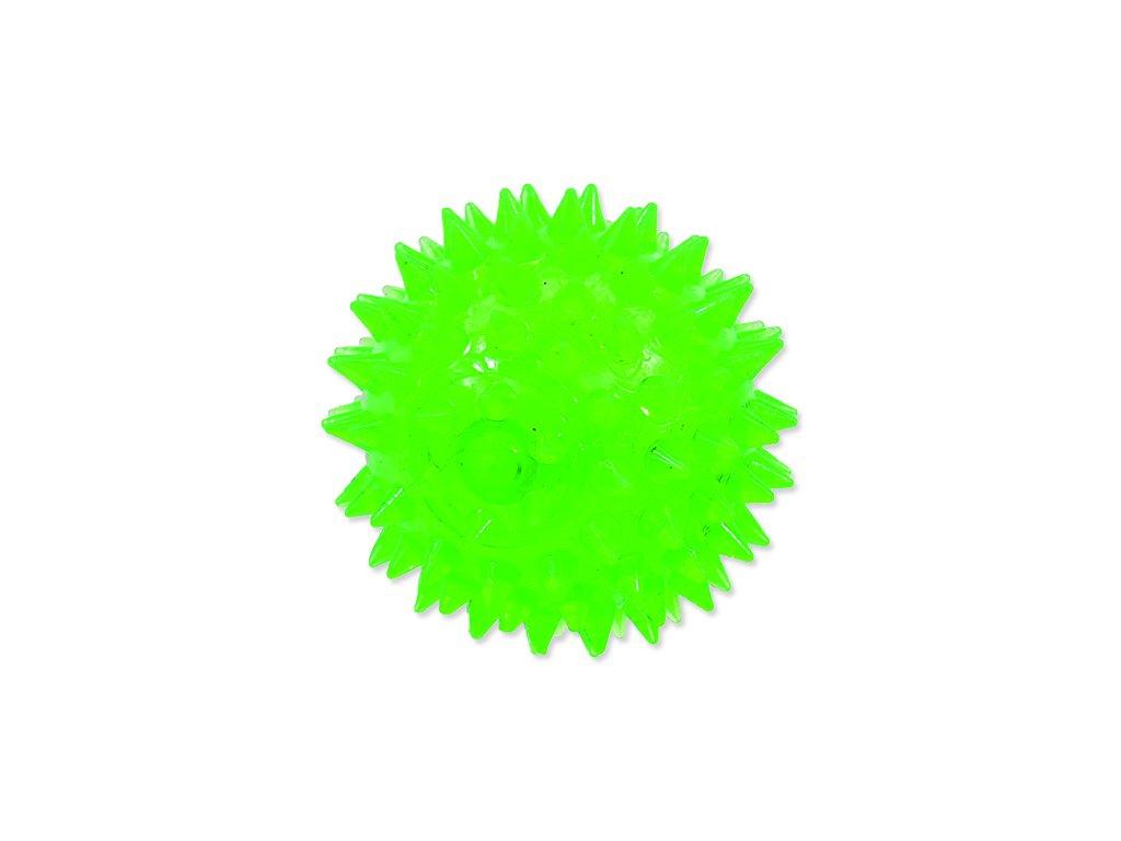 Hračka DOG FANTASY míček pískací zelený 8 cm