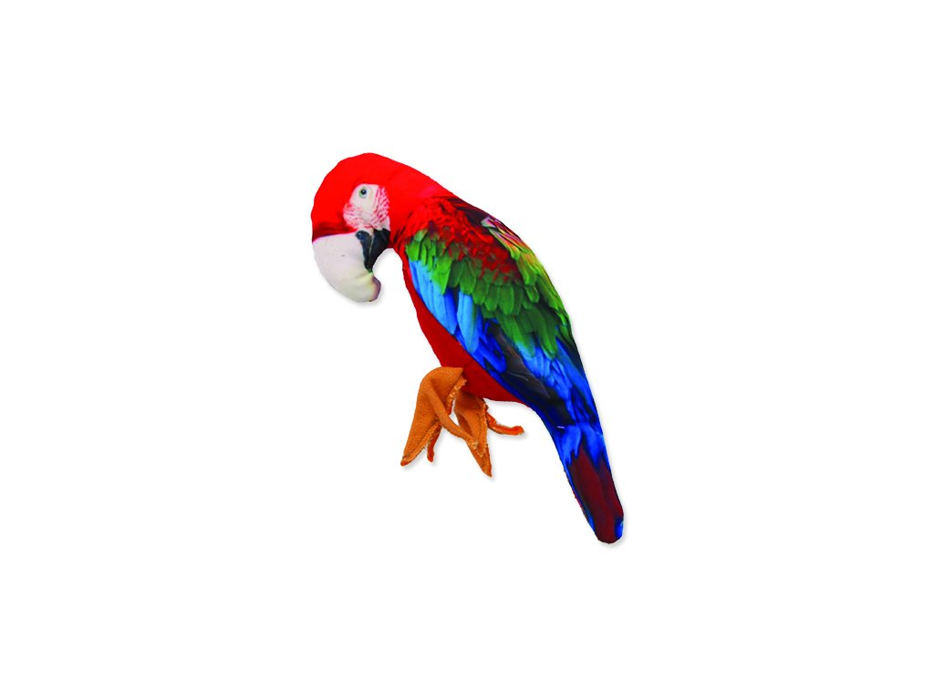 Hračka DOG FANTASY textilní papoušek