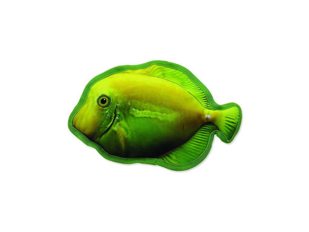 Hračka DOG FANTASY textilní ryba žlutá