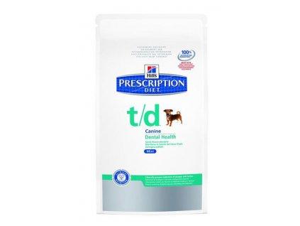 Hill's Canine T/D Dry mini 3 kg