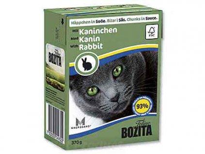 BOZITA  - Králík kousky v omáčce Tetra Pak 370 g