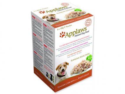 Kapsičky APPLAWS Dog Jelly Supreme Selection multipack 500g