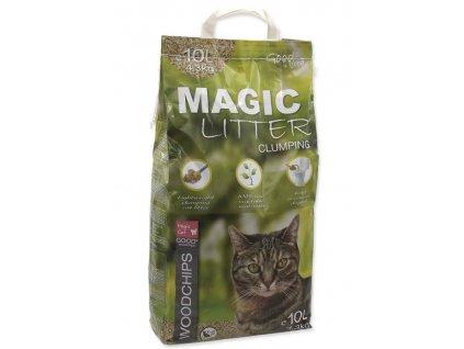 Kočkolit MAGIC CAT Litter Woodchips 10l 4,3kg
