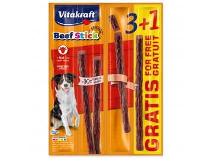 Beef Stick VITAKRAFT Rind 3+1 zdarma 4ks