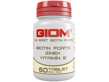 Giom ERA Forte na srst Biotin 60tbl