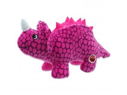 Hračka LET`S PLAY dinosaurus fialový 25 cm