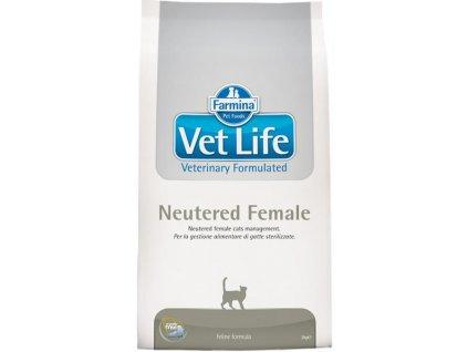 vetlife neutered female