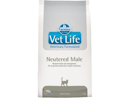 vetlife neutered male