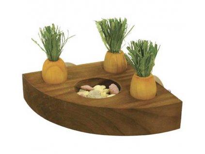 hracka pro hlodavce mrkev rosewood
